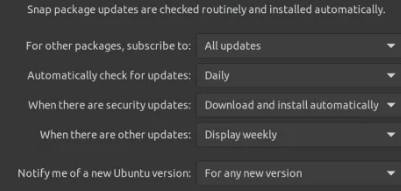For any new version
