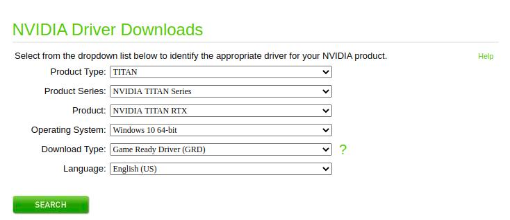 Nvidia Linux Drivers