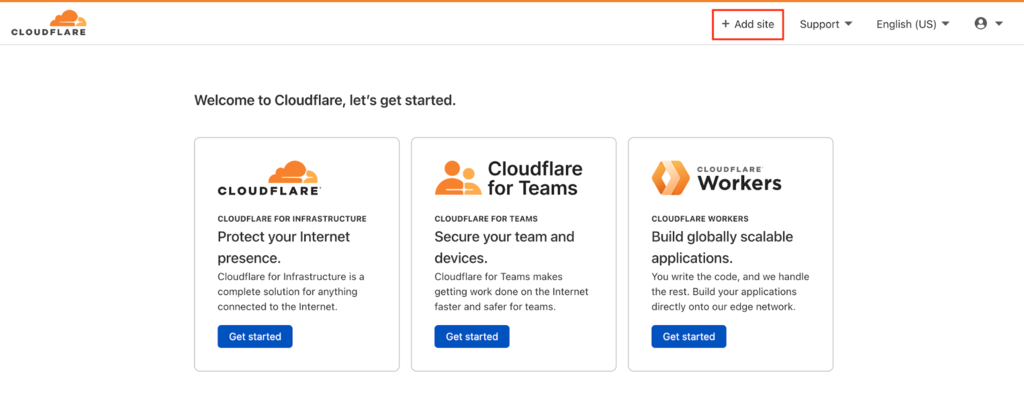 adding domain to cloudflare