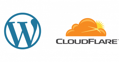 set up wordpress with free cloudflare CDN