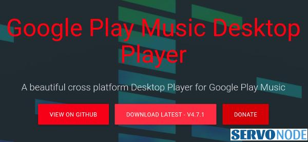 GPMDP download button