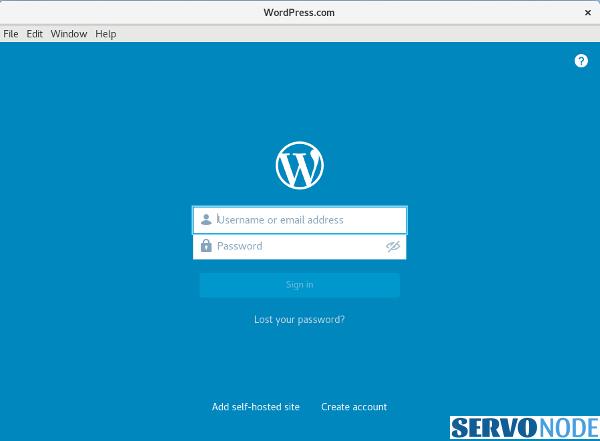 Install Wordpress.com App On Fedora Linux