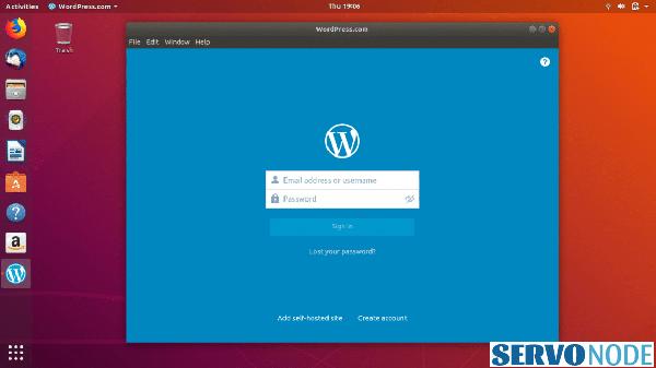 how to install Wordpress desktop client in Linux