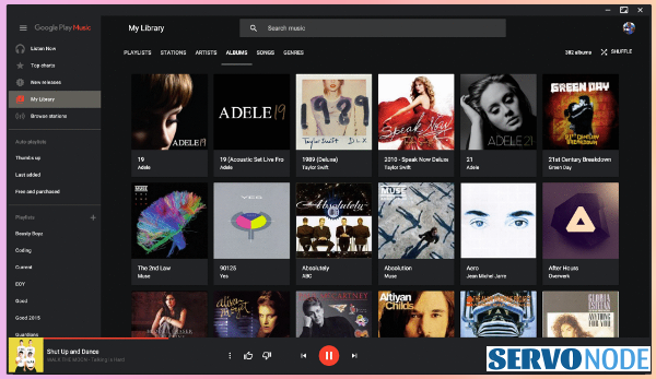 install google play music desktop player fedora