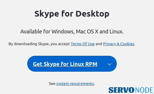 get skype for Linux RPM