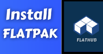 install flatpak in linux