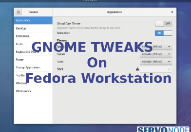 Install Gnome Tweak Tool On Fedora Workstation- All Versions