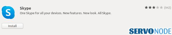install skype in linux