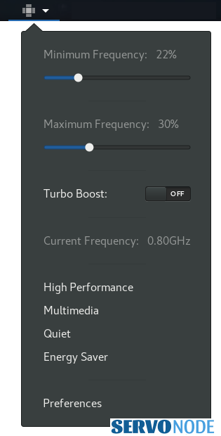 CPU Power Manager