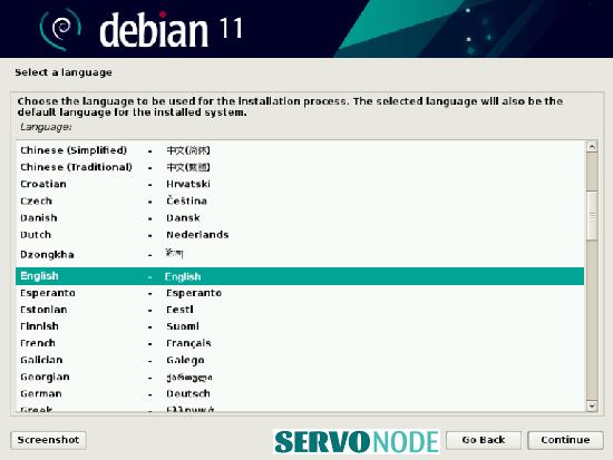 Debian 11 Installer