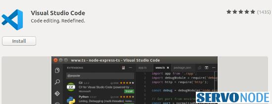 VS Code installation