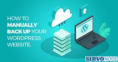 backup wordpress site manually