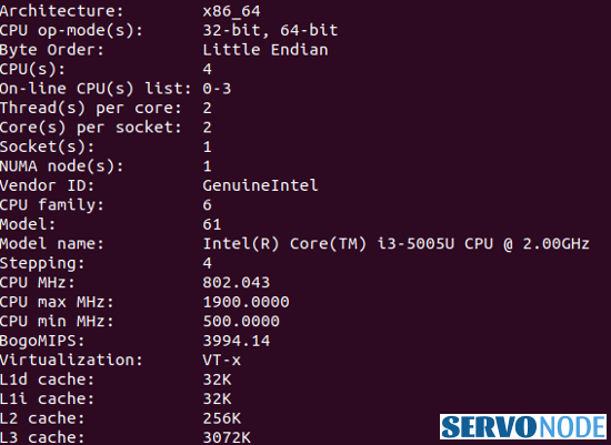 check 32 bit or 64 bit in linux