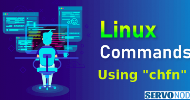 chfn command in linux