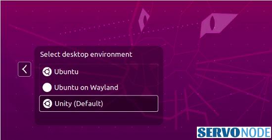 choose among desktop environments