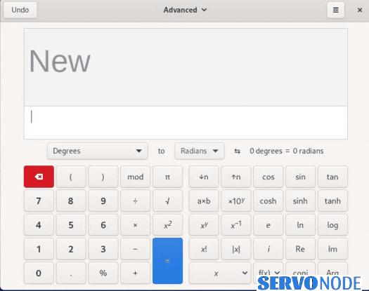 Calculator in Gnome 41