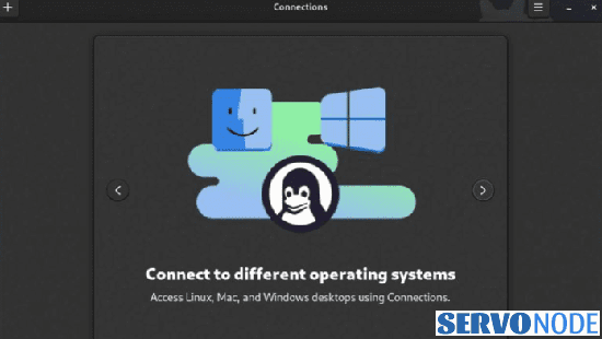 Connections in Gnome 41