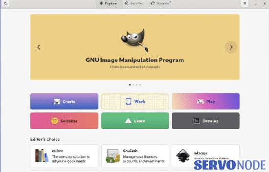 Gnome 41 Software app