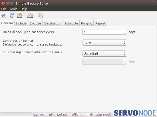 Simple-Backup-sbackup