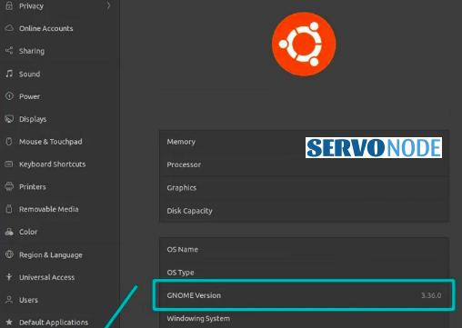 desktop environment version in ubuntu