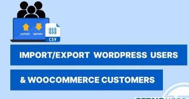 how to import and export wordpress users
