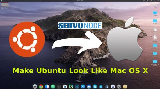 make ubuntu look like mac os